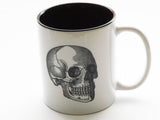 Skull Brain Spine Coffee Mugs Set of Three chiropractor male nurse practitioner doctor gift-Art Altered