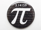 Pi Day Fridge Magnet coaster button pin logic math science novelty party favor stocking stuffers gifts geekery graduation teacher dork nerd-Art Altered