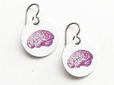 Brain Earrings medical student gift neurology neurlogist doctor nurse practitioner physician assistant school anatomy jewelry graduation md-Art Altered