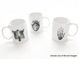 Anatomy Ceramic Coffee MUG Choice of Image anatomical heart medical student teacher doctor gift - Art Altered  - 2