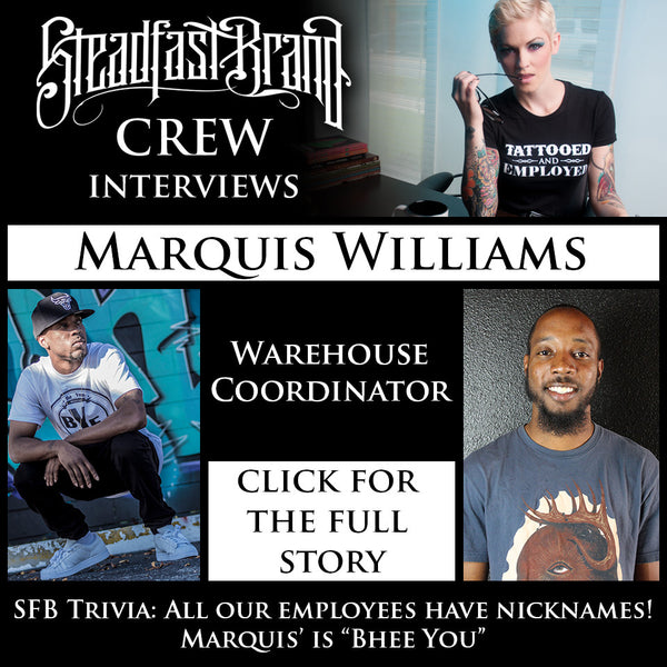 Meet the Crew: Marquis