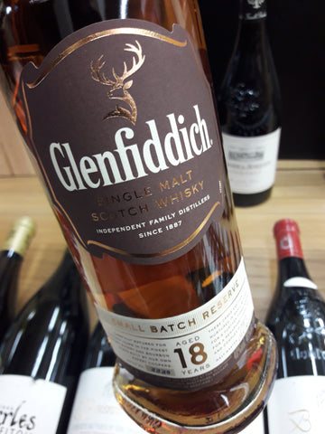 Whisky Glenfiddich Small Batch 18 Anos