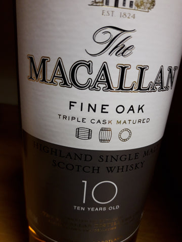 Whisky Macallan Fine Oak 10 Anos