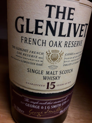Whisky Glenlivet 15 anos Single Malt