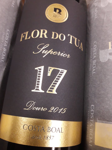 Flor do Tua Superior 17 Douro Tinto 2015