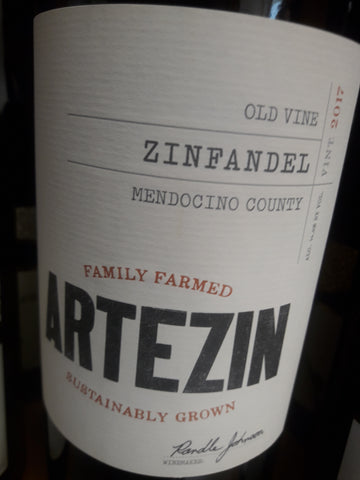 Hess Collection Artezin Zinfandel Mendocino Califórnia EUA Tinto 2017
