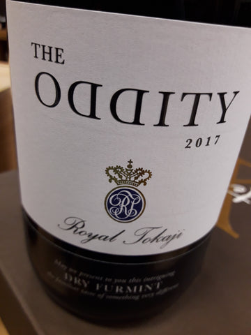 Royal Tokaji The Oddity Furmint Tokaji Hungria Branco Seco 2017
