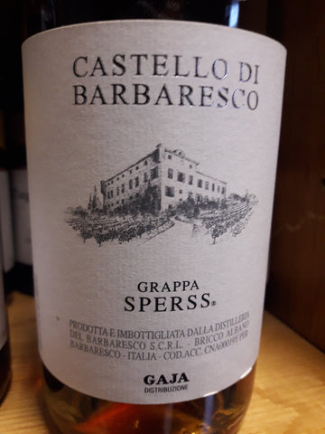 Grappa Gaja Castello di Barbaresco Sperss - 50cl