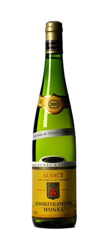 Hugel Gewurztraminer Selection des Grains Nobles Branco 1989
