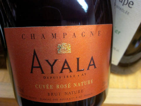 Champagne Ayala Cuvee Rosé Nature