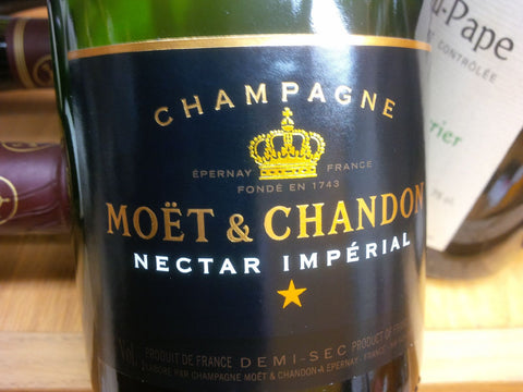 Champagne Moet & Chandon Nectar Imperial