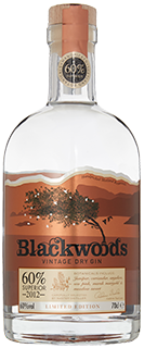 Gin Blackwood 60% Vintage 2012