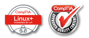 TestOut linux training is Comptia approved