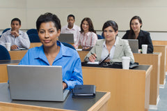 Corporate training events are better with TestOut CE courseware.