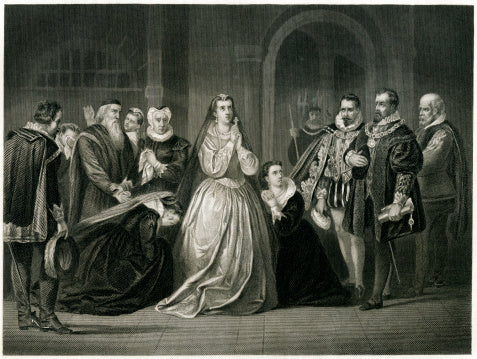 The treason trail of Mary Queen of Scots.