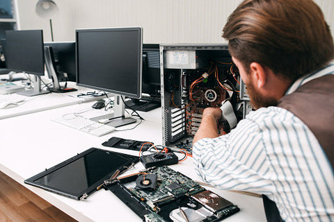 Become a do-it-yourself PC repair guy.