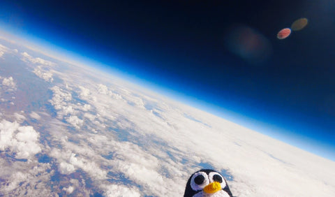 Tux in Space