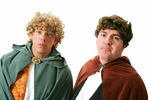 Frodo and Samwise