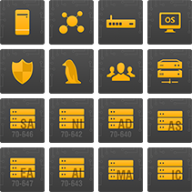 library suite product icons