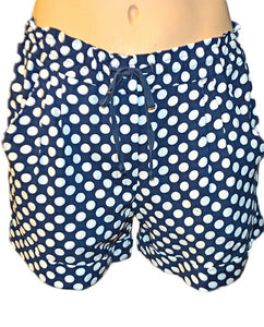 Polka Dot Shorts - NAVY