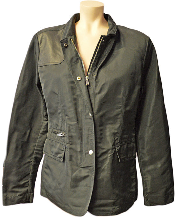 Nylon Field Jacket - BLACK