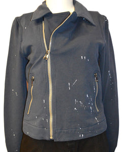 Splatter Jacket NAVY