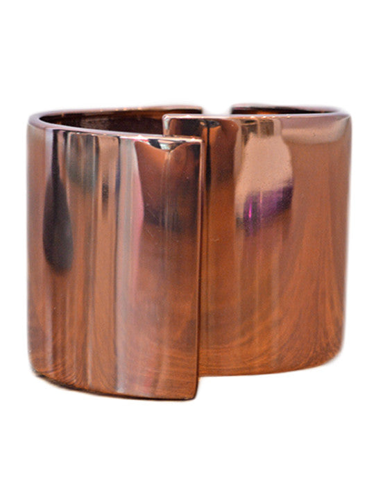 Thick Copper Cuff- COPPER