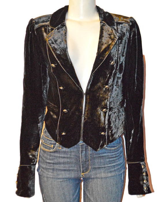 Maribel Jacket - BLACK
