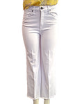 Ankle Justine Trouser - WHITE