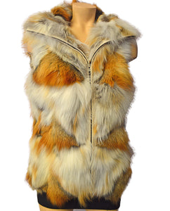 Golden Island Fox Vest  - NATURA