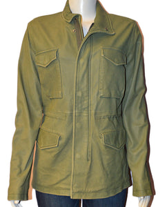 Olive Washed Coat - OLIVE