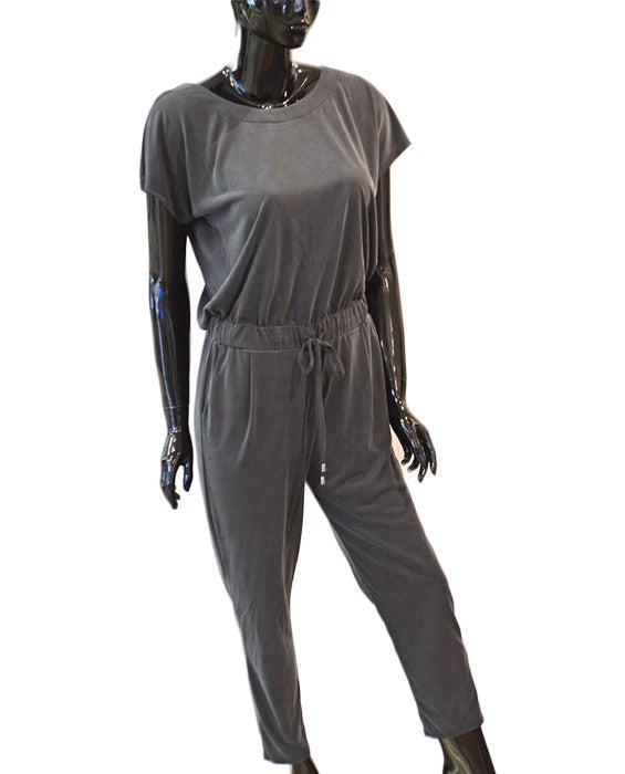 Sandwash Jumpsuit - BLACK