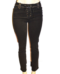 Studded Joannie - BLACK