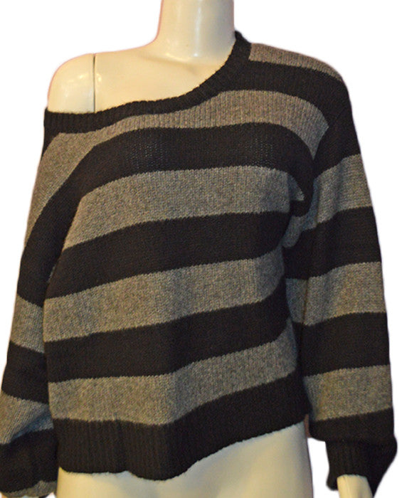 Herve Sweater - BKGRY