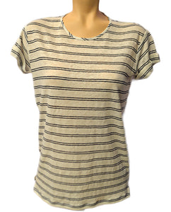 SS Double Stripe Tee - OFFWHTCO