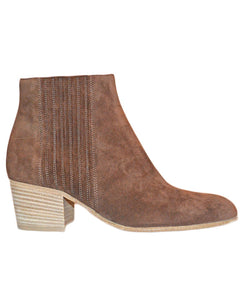 Haider Booties - SADDLE