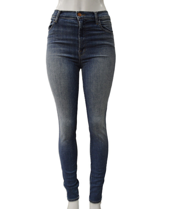 J BRAND Carolina High Rise - BLUE