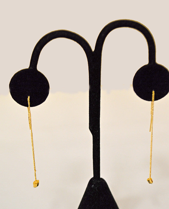 Asteria Thread Earring- GOLD