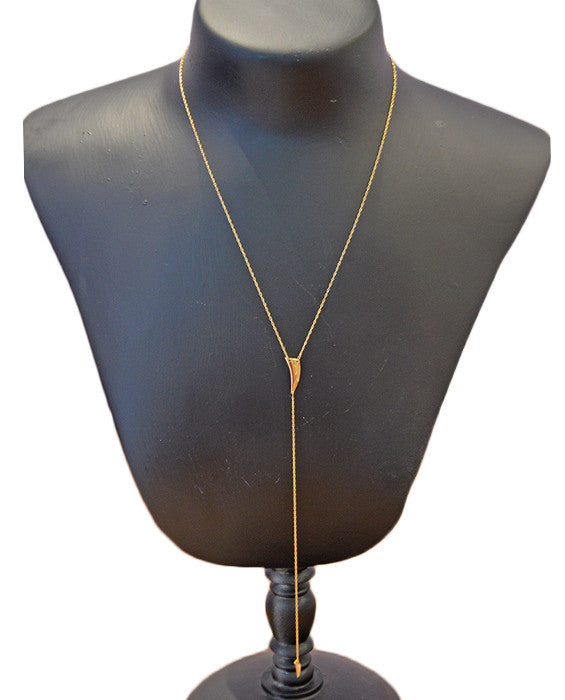 Hunter Necklace- YELVERM