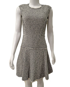 Sleeveless Stretch Tweed - BLKCOM