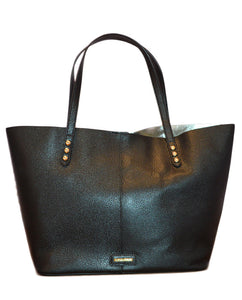 Unlined Tote - BLACK