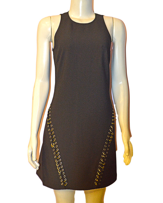 Cleary Tank Dress - BLACK