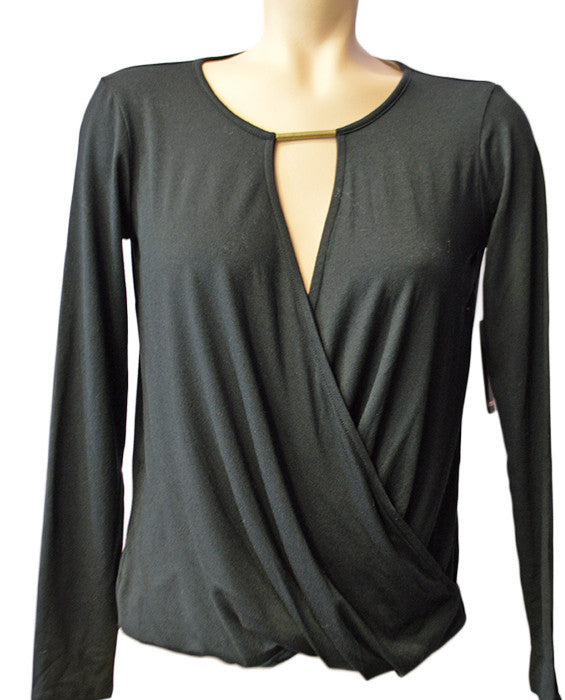 Bella Blouse- BLACK