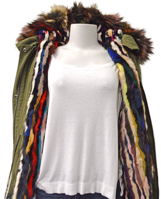 Cargo Coat Mink & Fox - MULTI