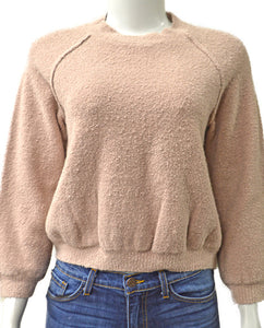 Boucle Stretch - BLUSH