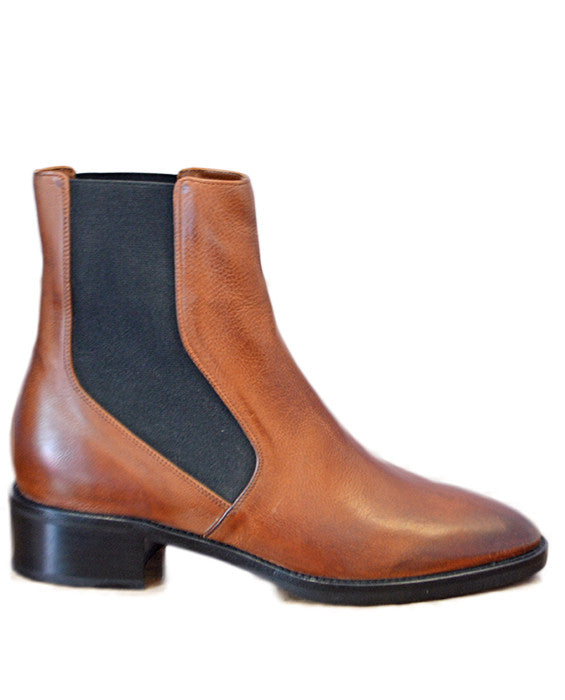 Carrington Bootie - CAMEL