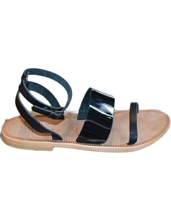 Solimar Sandal - BLACK