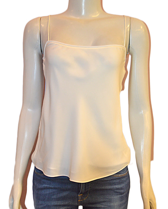Silk Combo Slip Top - IVORY
