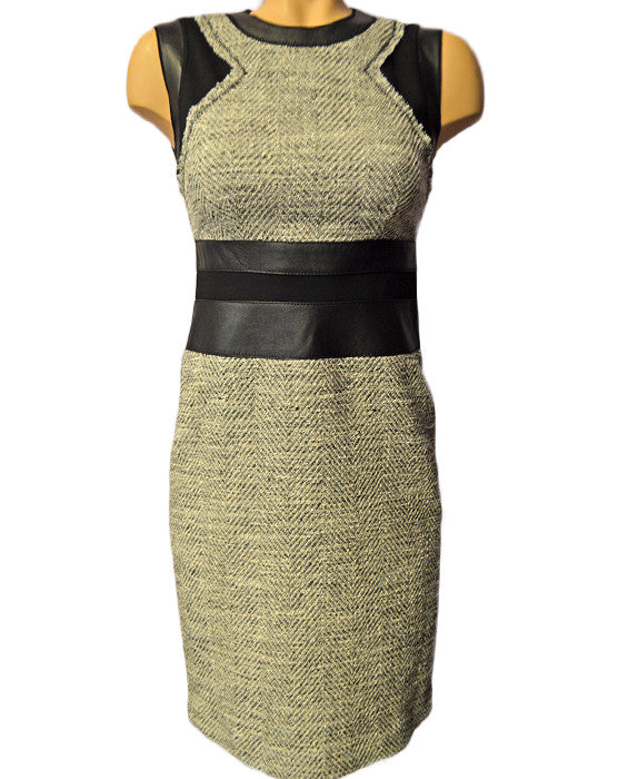 SL Canyons Tweed Dress- BLKWHT
