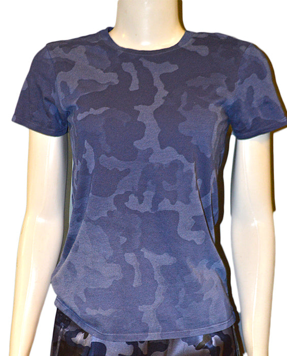 Camo Wash School Boy Tee - BCAM